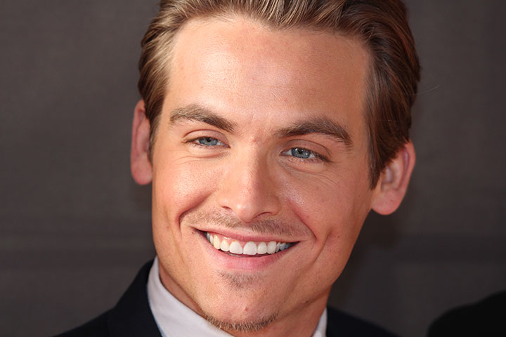 Canadian actor Kevin Zegers ma...