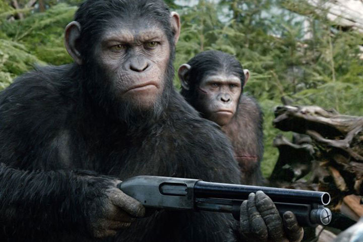 A scene from 'Dawn of the Planet of the Apes.' | Handout