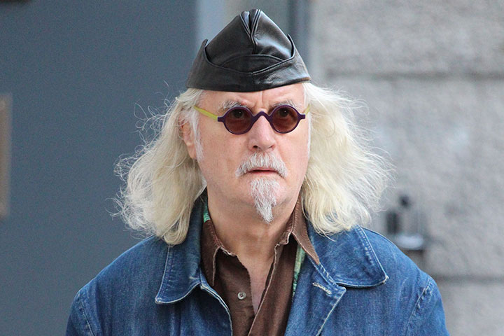 Exclusive Billy Connolly Out And About In Montreal