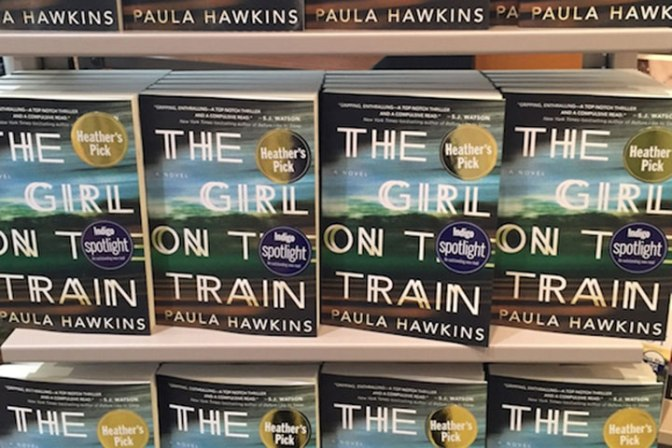 Indigo names 'The Girl on the Train' best book of 2015