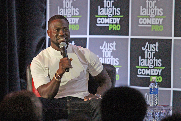 Kevin Hart gets pitched, talks social media at Just For Laughs – POP GOES  THE NEWS