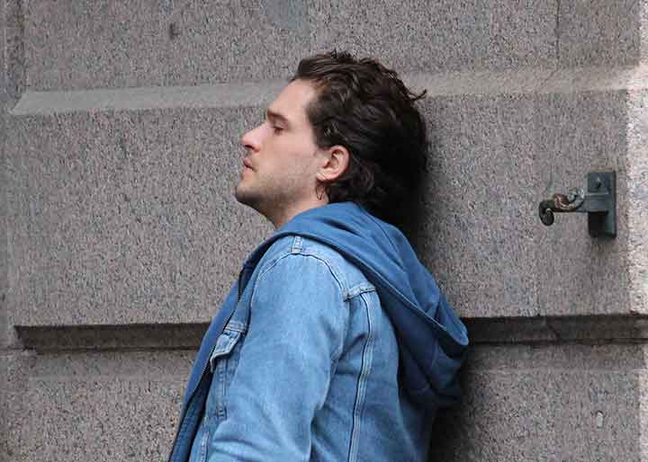 See The Pics Kit Harington Didn T Want Fans To See